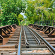Stock Photo: Railroad tracks