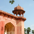 Red sandstone Akbar - Stock Photo