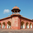 Red sandstone Akbar - Foto Stock