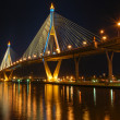 Stock Photo: Night scene of bridge