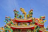 Chińskie smoki dekoracji — Zdjęcie stockowe