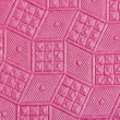 Stock Photo: Pink embossed paper