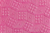 Pink embossed paper — Stock Photo