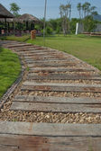 木製の通路 — ストック写真