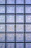 Glass wall pattern — Stock Photo