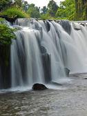 Tad-Pa Suam waterfall — Stock Photo