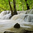 Nature background of waterfall — Stock Photo