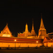 Night scene of famous Thai temple — Stock Photo #12769354