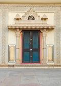 Beautiful Indian door — Stock Photo