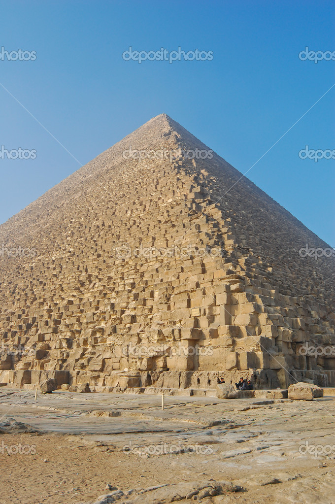 Great Pyramid of Giza, Egypt — Stock Photo #12897910