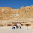 Stock Photo: Mortuary Temple of Queen Hatshepsut, Egypt.