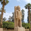 Stock Photo: Standing statue of Ramses II