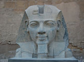 Head statue of Ramses II — Stock Photo