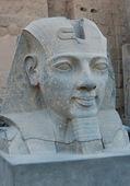 Head statue of Ramses II — Stock Photo