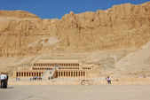 Mortuary Temple of Queen Hatshepsut — Stock Photo