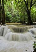 Huay mae khamin vodopád — Stock fotografie