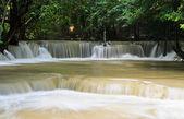 Tropical rainforest waterfall, Thailand — Stock Photo