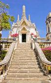 White pagoda — Stock Photo