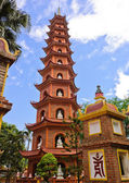 Tran Quoc pagoda in Hanoi, Vietnam — Stock Photo