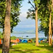 Stock Photo: Camping tents