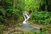 Přírodní krajina s vodopádem — Stock fotografie