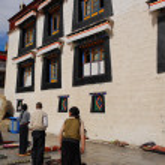 Jokhang temple, Tibet — Stock Photo