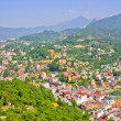 Sapa town in green valley, Vietnam — Stock Photo