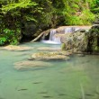 Cascade falls in tropical rain forest — Stock Photo #13342581