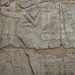 Stock Photo: Ancient Egyptirelief carved wall