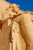 Rameses II statue — Stock Photo