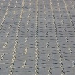 Grey brick pave tiles — Stock Photo