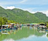 Balıkçı köyü — Stok fotoğraf