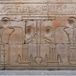 Egyptian engraved image on wall in Kom Ombo temple, Egypt — Stock Photo