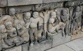 Bas-relief sculptures — Stock Photo