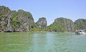 Seascape de halong bay, vietnam — Foto Stock