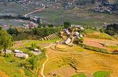 Aldeia de minoria hmong em sapa, vietname — Foto Stock