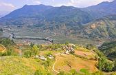 Paysage des highlands de sapa, vietnam — Photo