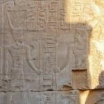 Egyptian gods relief — Stock Photo #13780931