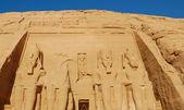 Tempio di abu simbel — Foto Stock