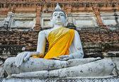 Antigua estatua de buda — Foto de Stock