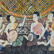 Native Thai mural -  