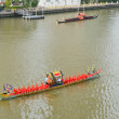 Rehearsal for Royal Barge Procession — Stock Photo #14283031