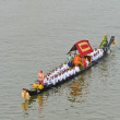Stock Photo: Rehearsal for Royal Barge Procession