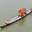 Rehearsal for Royal Barge Procession — Stock Photo