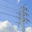 Power transmission pylon — Stock Photo