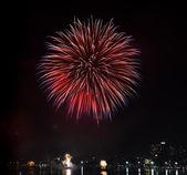Fogos de artifício — Fotografia Stock