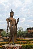 Statua di buddha a piedi — Foto Stock