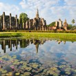 Stock Photo: Wat Mahathat in Sukhothai