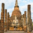 Sukhothai Historical Park, Thailand - Stock Photo