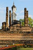 Wat mahathat buda heykeli — Stok fotoğraf